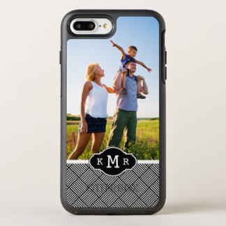 Coque Otterbox Symmetry Pour iPhone 7 Plus Texture vérifiée géométrique de photo et de