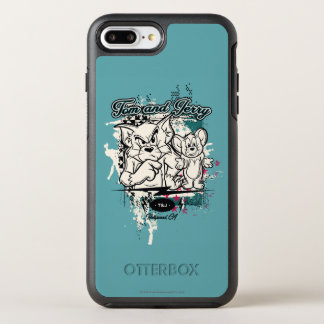Coque Otterbox Symmetry Pour iPhone 7 Plus Tom et Jerry Hollywood CA