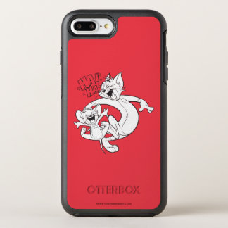 Coque Otterbox Symmetry Pour iPhone 7 Plus Tom et Jerry | Tom et rire de Jerry