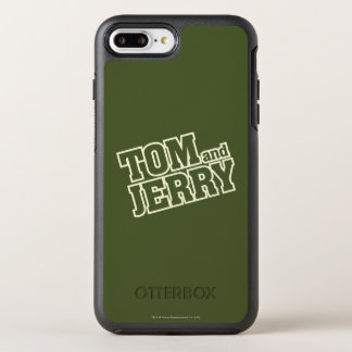 Coque Otterbox Symmetry Pour iPhone 7 Plus Tom et logo 3 de Jerry