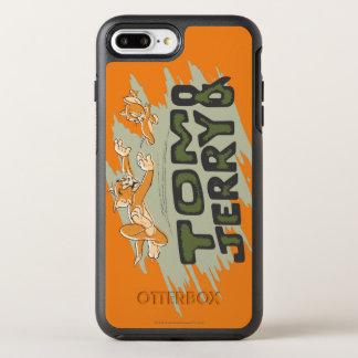 Coque Otterbox Symmetry Pour iPhone 7 Plus Tom et logo de chasse de Jerry