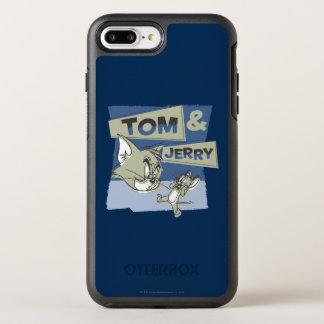 Coque Otterbox Symmetry Pour iPhone 7 Plus Tom et souris de Jerry Scaredey