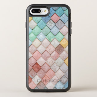 Coque Otterbox Symmetry Pour iPhone 7 Plus Tuiles en pierre colorées superbes