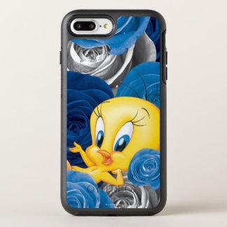 Coque Otterbox Symmetry Pour iPhone 7 Plus Tweety avec des roses