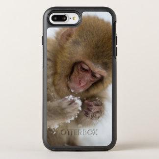 Coque Otterbox Symmetry Pour iPhone 7 Plus Un Macaque japonais de bébé (ou singe de neige)
