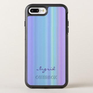 Coque Otterbox Symmetry Pour iPhone 7 Plus Vert bleu pourpre de turquoise
