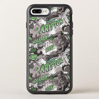 Coque Otterbox Symmetry Pour iPhone 7 Plus Vert et gris de krypton