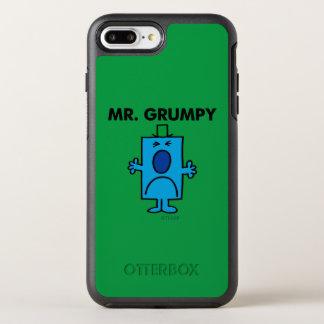 Coque Otterbox Symmetry Pour iPhone 7 Plus Visage de froncement de sourcils de M. Grumpy |