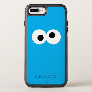 Coque Otterbox Symmetry Pour iPhone 7 Plus Visage de monstre de biscuit grand