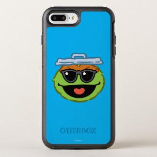 Coque Otterbox Symmetry Pour iPhone 7 Plus Visage de sourire d'oscar avec des lunettes de