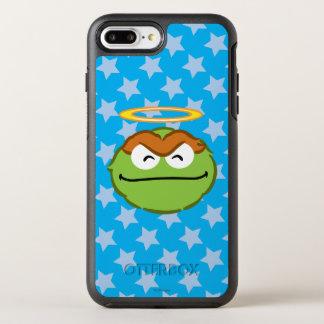 Coque Otterbox Symmetry Pour iPhone 7 Plus Visage de sourire d'oscar avec le halo