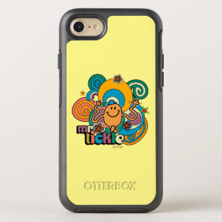 Coque Otterbox Symmetry Pour iPhone 7 Remous psychédéliques, étoiles, et fleurs de M.