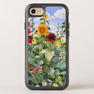 Coque Otterbox Symmetry Pour iPhone 7 Roses trémière et tournesols 2005