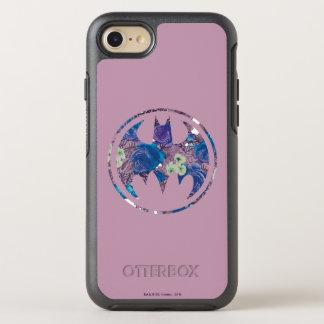 Coque Otterbox Symmetry Pour iPhone 7 Signal de batte de rose de pourpre
