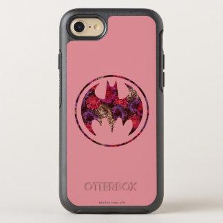 Coque Otterbox Symmetry Pour iPhone 7 Signal de batte de rose rouge
