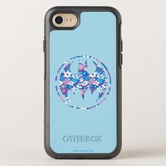 Coque Otterbox Symmetry Pour iPhone 7 Signal pourpre de batte de marguerite
