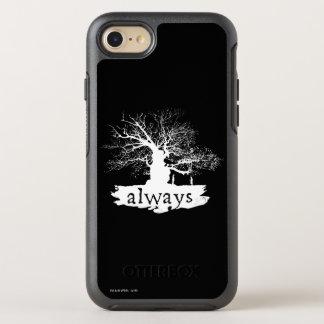 Coque Otterbox Symmetry Pour iPhone 7 Silhouette de citation du charme   de Harry Potter