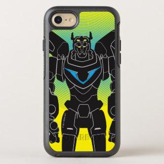 Coque Otterbox Symmetry Pour iPhone 7 Silhouette noire de Voltron | Voltron