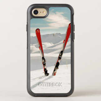 Coque Otterbox Symmetry Pour iPhone 7 Skis rouges
