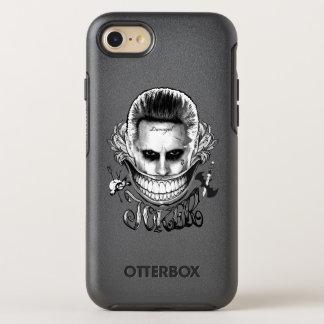 Coque Otterbox Symmetry Pour iPhone 7 Sourire de joker du peloton | de suicide