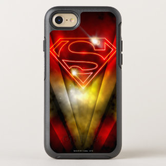 Coque Otterbox Symmetry Pour iPhone 7 Superman a stylisé le logo rouge brillant