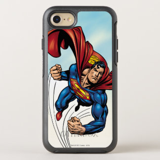 Coque Otterbox Symmetry Pour iPhone 7 Superman rapide par l'air