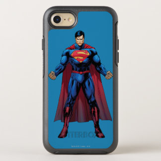 Coque Otterbox Symmetry Pour iPhone 7 Superman tenant 3