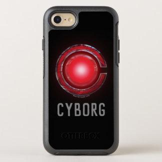 Coque Otterbox Symmetry Pour iPhone 7 Symbole rougeoyant de cyborg de la ligue de