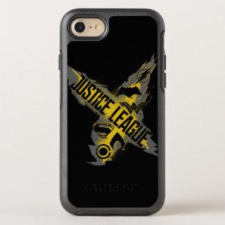 Coque Otterbox Symmetry Pour iPhone 7 Symboles de ligue et d'équipe de justice de la