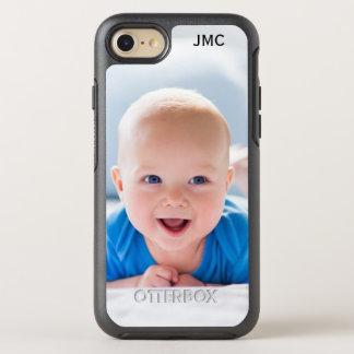 Coque Otterbox Symmetry Pour iPhone 7 Téléphone protecteur de photo avec le monogramme
