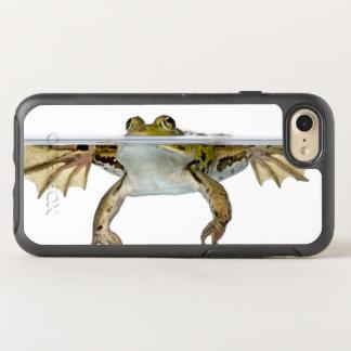 Coque Otterbox Symmetry Pour iPhone 7 Tiré d'une grenouille comestible apprêtant devant