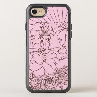 Coque Otterbox Symmetry Pour iPhone 7 Tom et contour de Jerry