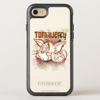 Coque Otterbox Symmetry Pour iPhone 7 Tom et Jerry Brown et vert