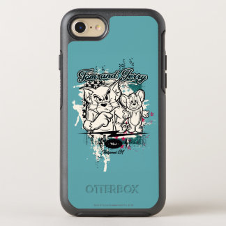 Coque Otterbox Symmetry Pour iPhone 7 Tom et Jerry Hollywood CA