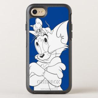 Coque Otterbox Symmetry Pour iPhone 7 Tom et Jerry sur la tête