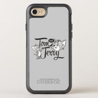 Coque Otterbox Symmetry Pour iPhone 7 Tom et Jerry | Tom et Jerry semblant doux