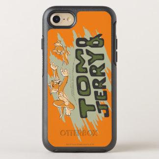Coque Otterbox Symmetry Pour iPhone 7 Tom et logo de chasse de Jerry