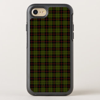 Coque Otterbox Symmetry Pour iPhone 7 Vert d'armée d'Odee avec la rayure de rouge et de