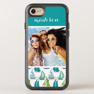 Coque Otterbox Symmetry Pour iPhone 7 Voiliers sur le motif | de l'eau votre photo et