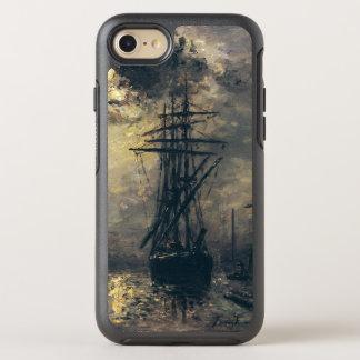 Coque Otterbox Symmetry Pour iPhone 7 Vue du port, ou les moulins à vent dedans