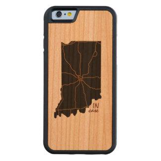 Coque Pare-chocs En Cerisier iPhone 6 Au cas où