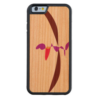 Coque Pare-chocs En Cerisier iPhone 6 Il n'y a rien là