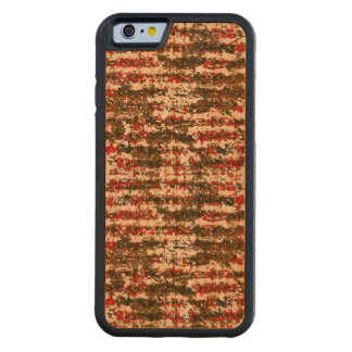 Coque Pare-chocs En Cerisier iPhone 6 Motif abstrait texturisé grunge