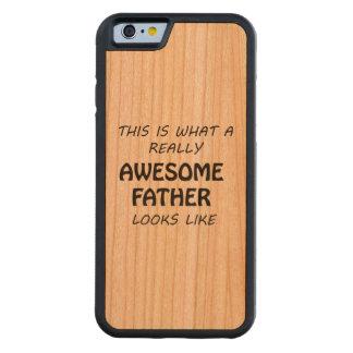 Coque Pare-chocs En Cerisier iPhone 6 Père impressionnant