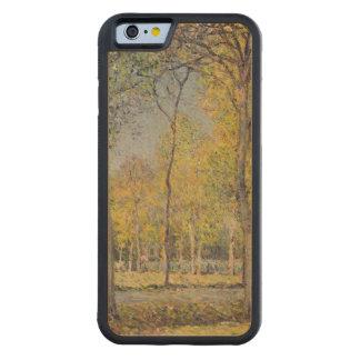 Coque Pare-chocs En Érable iPhone 6 Alfred Sisley | le Bois de Boulogne