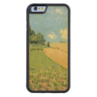 Coque Pare-chocs En Érable iPhone 6 Alfred Sisley | le champ de maïs