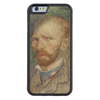 Coque Pare-chocs En Érable iPhone 6 Autoportrait de Vincent van Gogh |, 1887