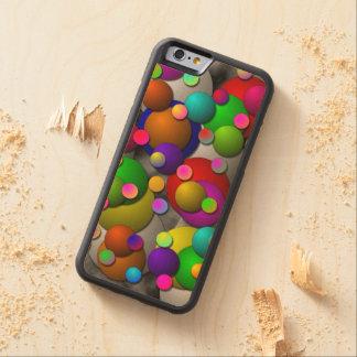 Coque Pare-chocs En Érable iPhone 6 Bulles