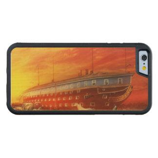 Coque Pare-chocs En Érable iPhone 6 Chrétien - l'arche de Noé - le début