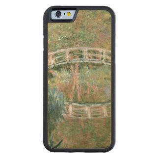 Coque Pare-chocs En Érable iPhone 6 Claude Monet | le pont japonais, Giverny